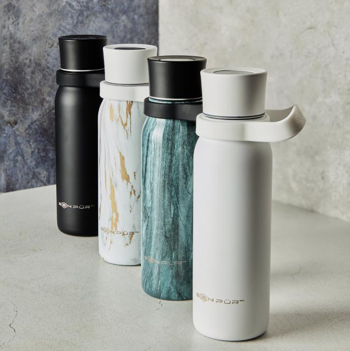 SenPur filtered water bottles