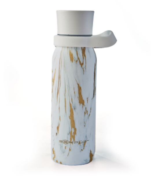 SenPur water bottle with smart water reminders