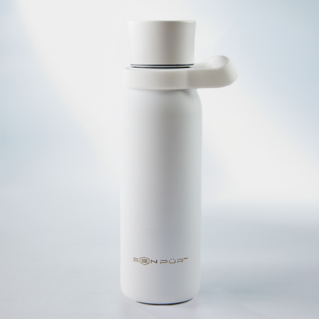 SenPur portable water filter bottle in US